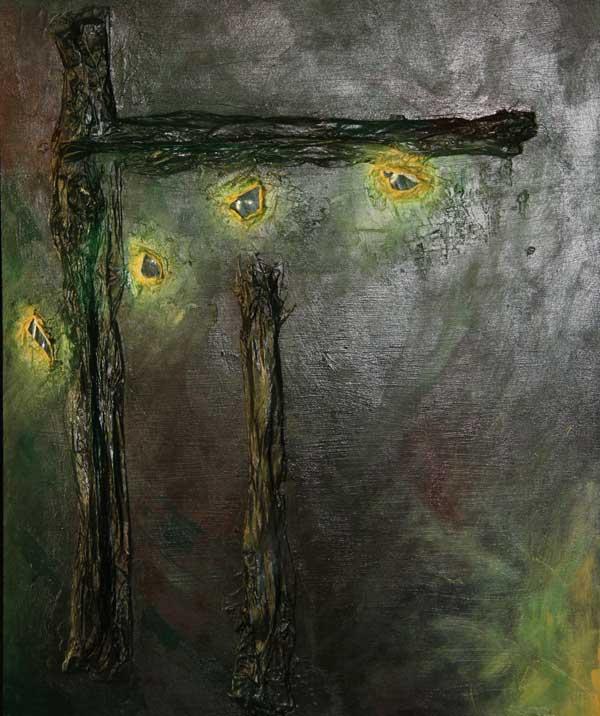 malarstwo akrylowe olejne obrazy galeria ilustracje pejzaz abstrakcja abstrakcjonizm