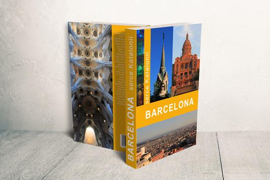 "Projekt okładki ""Barcelona – serce Katalonii"""