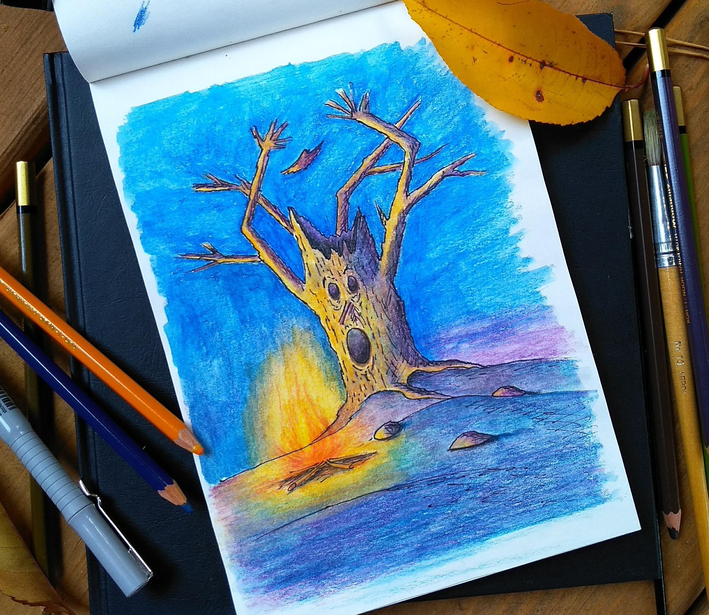 malarstwo akrylowe olejne obrazy galeria ilustracje dla dzieci ilustrator akwarela