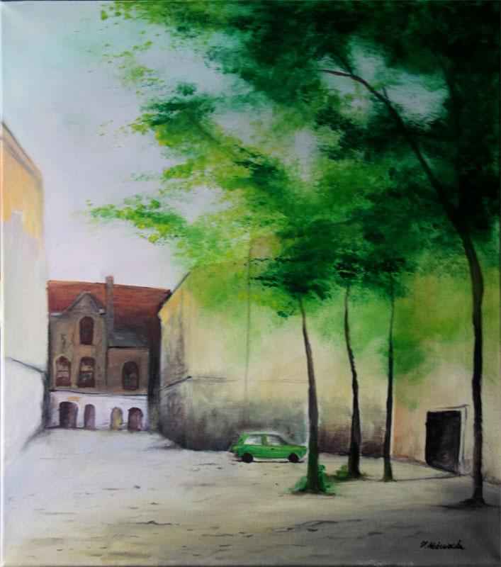 malarstwo akrylowe olejne Łódź obrazy galeria ilustracje pejzaz miasto