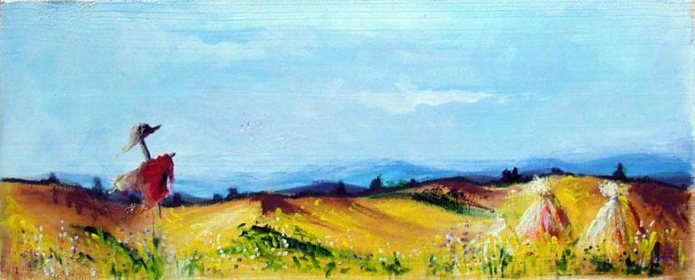 malarstwo akrylowe olejne obrazy galeria ilustracje pejzaz góry tatry polana