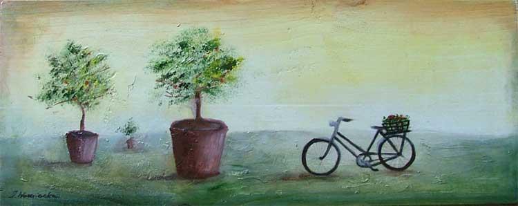 malarstwo akrylowe olejne obrazy galeria ilustracje pejzaz