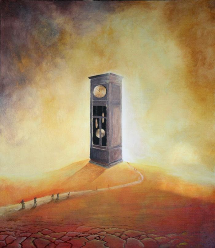 malarstwo akrylowe olejne obrazy galeria ilustracje surrealizm beksinski na sprzedaz