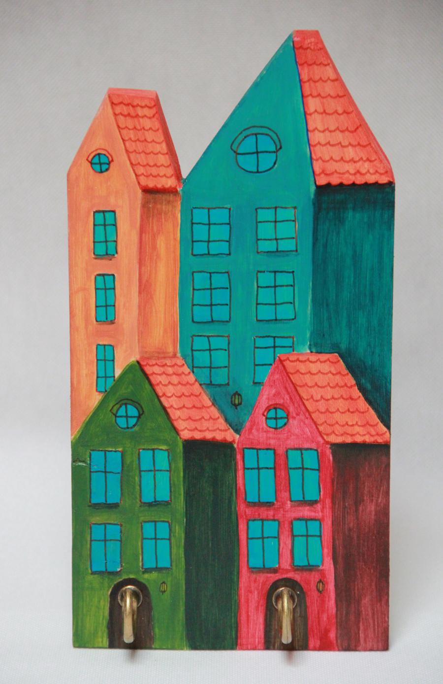 wieszak dekoracje handmade dla dzieci ilustracje obrazy malarstwo sklep