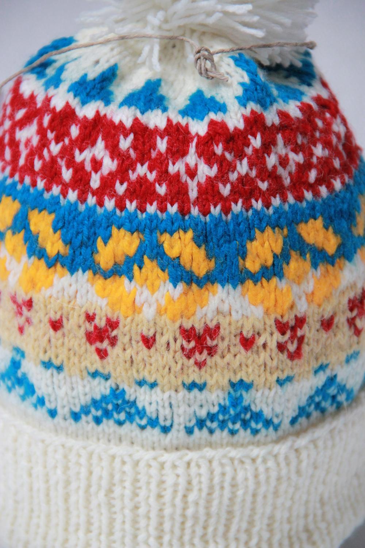 czapki zimowe damskie męskie rękodzieło handmade